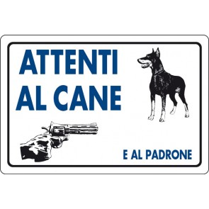 CART.ALL. Attenti al cane e padrone