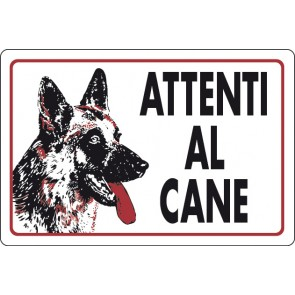 CART.ALL. Attenti al cane (fondo bianco)