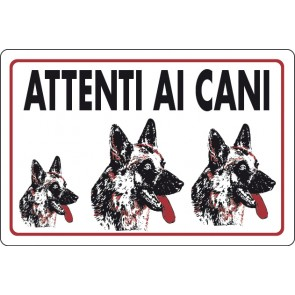 CART.ALL. Attenti ai cani
