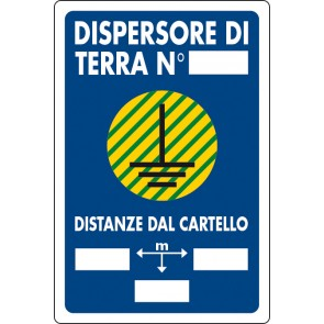 CART.PVC. Dispersore di terra n.