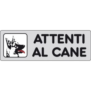 CART.ALL. Attenti al cane