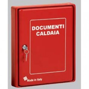 CASSETTA ABS x DOCUMENTI CALDAIA