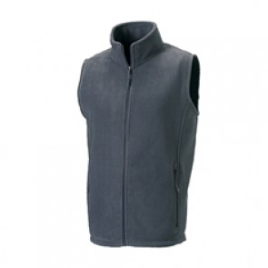 GILET PILE Russell GRIGIO